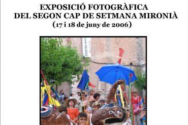 12 – EXPOSICIÓ FOTOGRÀFICA DEL II CAP DE SETMANA MIRONIÀ