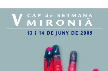 31- V CAP DE SETMANA MIRONIÀ