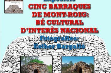 """86 – EXPOSICIÓ """"CINC BARRAQUES DE MONT-ROIG BCIN"""""""
